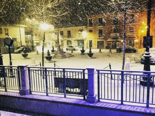 Piazza Amendola - Nevicata