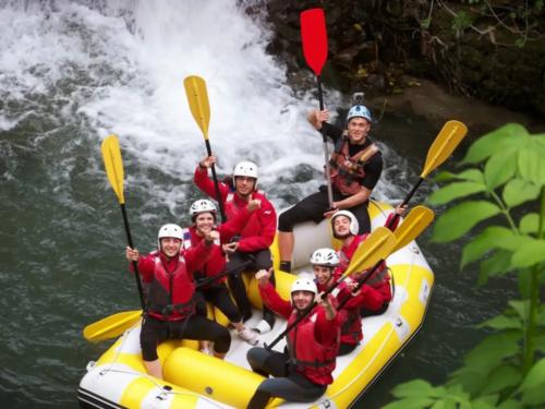 Rafting Campobase - fiume Tanagro - Pertosa (SA)