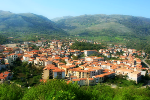 Panorama di San Gregorio Magno