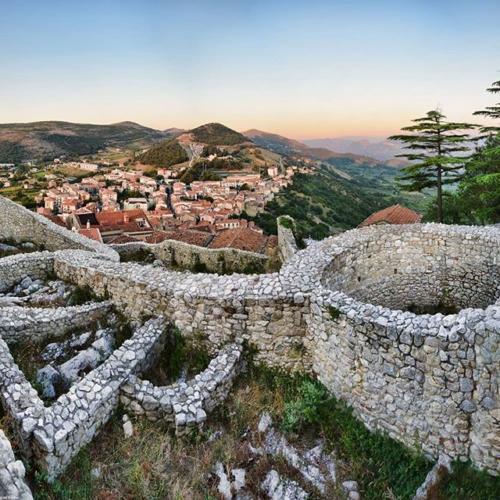 vista dal Castello - Buccino (SA)