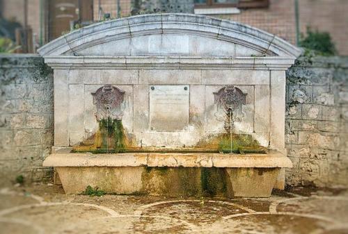 Fontana di San Zaccaria - San Gregorio Magno
