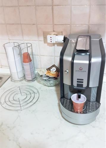 Macchina del Caffe Espresso automatica con capsule